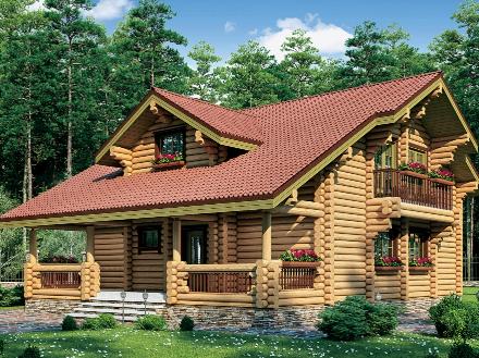 Виды и преимущества деревянных домов