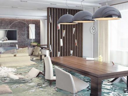 Если в квартире начался дождь от затопления соседями