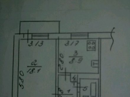Продам однокомнатную квартиру на 3-м этаже 9-этажного дома площадью 35 кв. м. в Липецке