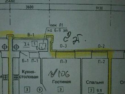 Продам двухкомнатную квартиру на 2-м этаже 9-этажного дома площадью 63 кв. м. в Чебоксарах