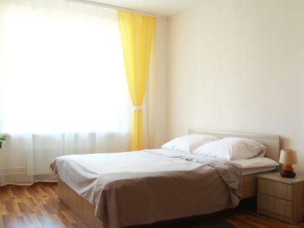 Сдам посуточно студию на 5-м этаже 10-этажного дома площадью 41 кв. м. в Пскове
