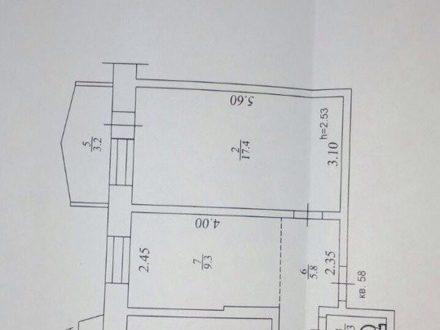 Продам двухкомнатную квартиру на 5-м этаже 5-этажного дома площадью 46,7 кв. м. в Якутске