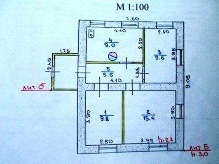 Продам дом площадью 49,3 кв. м. в Саранске