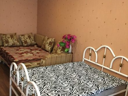 Сдам посуточно однокомнатную квартиру на 6-м этаже 18-этажного дома площадью 47 кв. м. в Ростове-на-Дону