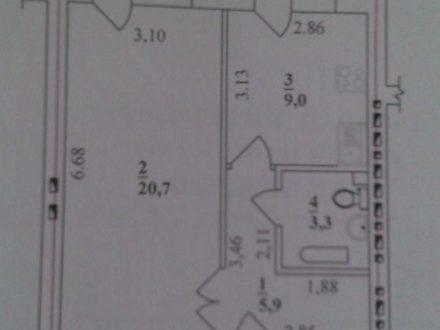 Продам однокомнатную квартиру на 5-м этаже 5-этажного дома площадью 38,9 кв. м. в Нарьян-Маре