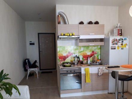 Продам студию на 11-м этаже 12-этажного дома площадью 28 кв. м. в Пензе