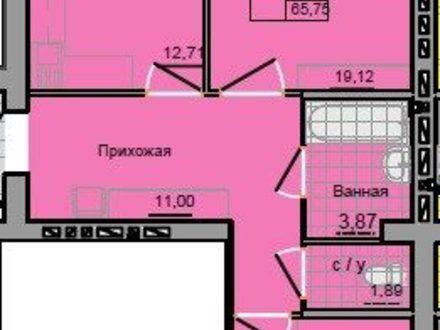 Продам двухкомнатную квартиру на 8-м этаже 9-этажного дома площадью 66 кв. м. в Иваново