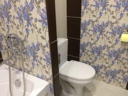 Сдам на длительный срок однокомнатную квартиру на 19-м этаже 24-этажного дома площадью 36 кв. м. в Самаре