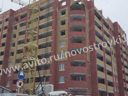 Продам двухкомнатную квартиру на 4-м этаже 9-этажного дома площадью 58,9 кв. м. в Йошкар-Оле