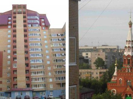 Сдам на длительный срок трехкомнатную квартиру на 8-м этаже 17-этажного дома площадью 83 кв. м. в Перми