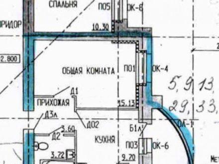 Продам однокомнатную квартиру на 4-м этаже 14-этажного дома площадью 37 кв. м. в Тамбове