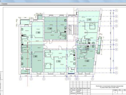 Продам двухкомнатную квартиру на 2-м этаже 4-этажного дома площадью 63 кв. м. в Твери