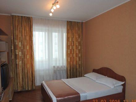 Сдам посуточно студию на 4-м этаже 12-этажного дома площадью 25 кв. м. в Архангельске