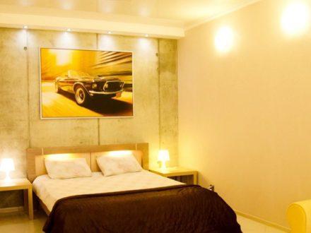 Сдам посуточно однокомнатную квартиру на 9-м этаже 10-этажного дома площадью 45 кв. м. в Калининграде