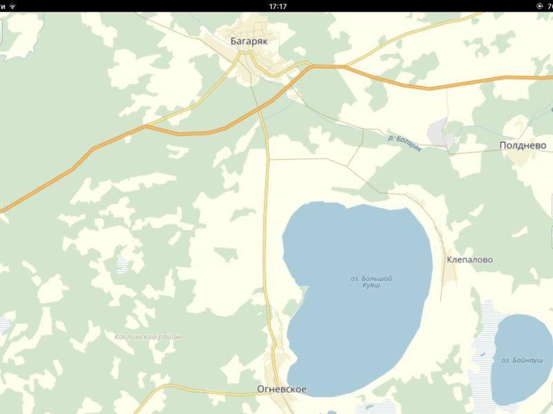 самом фото карта с большой куяш возможно, руководство