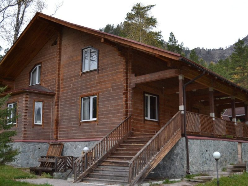 Фото загородных домов в горно алтайске