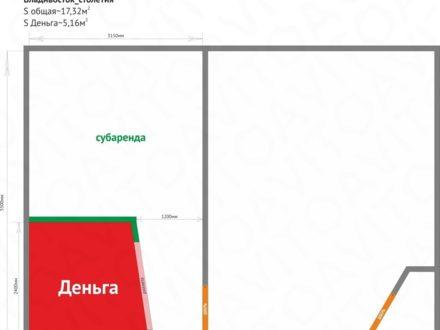 Сдам торговое помещение площадью 10 кв. м. в Владивостоке
