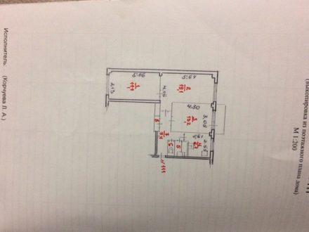 Продам трехкомнатную квартиру на 3-м этаже 5-этажного дома площадью 67,5 кв. м. в Петрозаводске