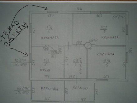 Продам дом площадью 72 кв. м. в Мурманске