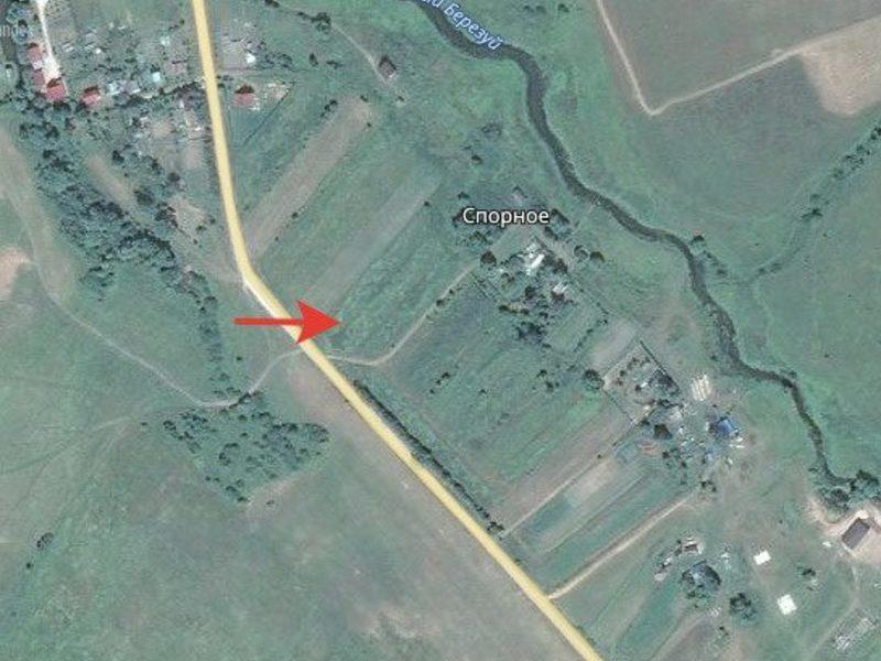 на район показать карте спорное бабынский деревня