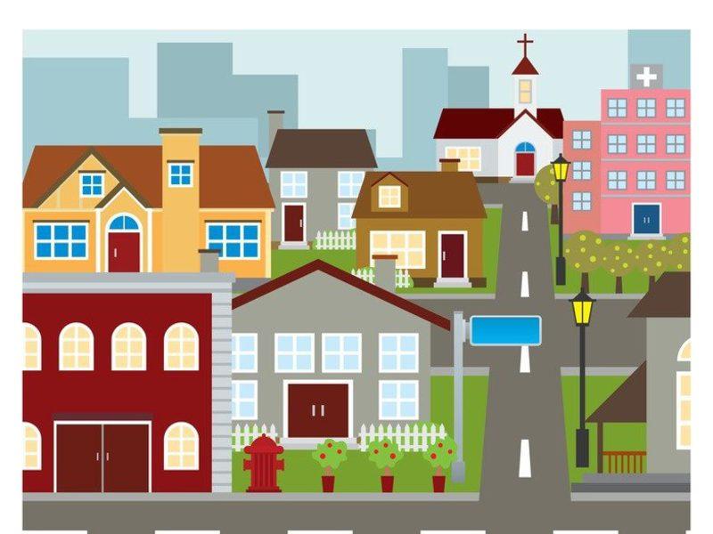 Картинки наш город для детского сада
