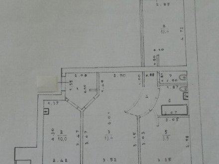 Продам трехкомнатную квартиру на 4-м этаже 9-этажного дома площадью 67.8 кв. м. в Кирове