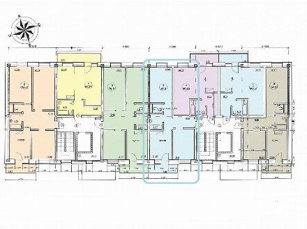 Продам двухкомнатную квартиру на 4-м этаже 9-этажного дома площадью 55 кв. м. в Улан-Удэ
