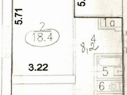 Продам трехкомнатную квартиру на 3-м этаже 14-этажного дома площадью 63,7 кв. м. в Москве