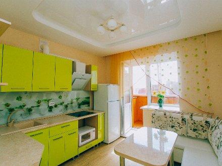 Сдам посуточно однокомнатную квартиру на 6-м этаже 10-этажного дома площадью 45 кв. м. в Ульяновске