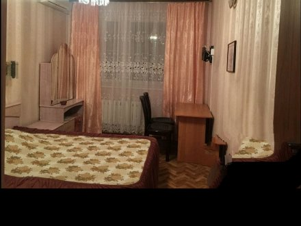 Сдам на длительный срок двухкомнатную квартиру на 9-м этаже 14-этажного дома площадью 52,2 кв. м. в Москве
