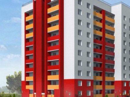 Продам однокомнатную квартиру на 2-м этаже 2-этажного дома площадью 43,76 кв. м. в Брянске