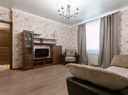 Сдам на длительный срок однокомнатную квартиру на 20-м этаже 25-этажного дома площадью 40 кв. м. в Кургане