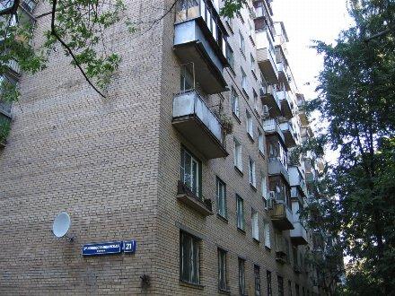 Продам двухкомнатную квартиру на 6-м этаже 9-этажного дома площадью 45 кв. м. в Москве