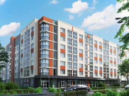 Продам однокомнатную квартиру на 7-м этаже 7-этажного дома площадью 36,8 кв. м. в Калининграде