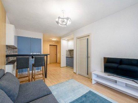 Сдам на длительный срок однокомнатную квартиру на 12-м этаже 20-этажного дома площадью 42 кв. м. в Москве