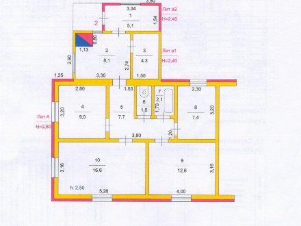 Продам дом площадью 69 кв. м. в Челябинске