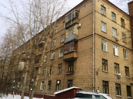 Продам однокомнатную квартиру на 1-м этаже 5-этажного дома площадью 21 кв. м. в Москве