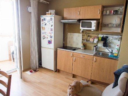 Сдам на длительный срок однокомнатную квартиру на 3-м этаже 12-этажного дома площадью 39 кв. м. в Грозном