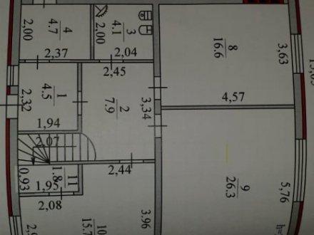 Продам дом площадью 221 кв. м. в Краснодаре