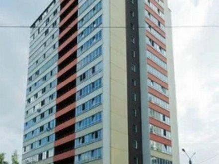 Сдам посуточно студию на 12-м этаже 17-этажного дома площадью 28 кв. м. в Кирове