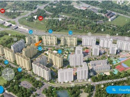 Продам однокомнатную квартиру на 12-м этаже 17-этажного дома площадью 29 кв. м. в Москве