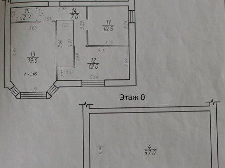 Продам трехкомнатную квартиру на 1-м этаже 3-этажного дома площадью 110 кв. м. в Ставрополе