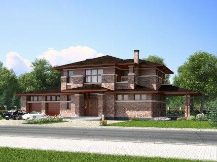 Продам коттедж площадью 365 кв.м/16 кв. м. в Москве