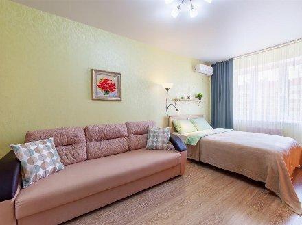 Сдам на длительный срок однокомнатную квартиру на 5-м этаже 10-этажного дома площадью 40 кв. м. в Благовещенске